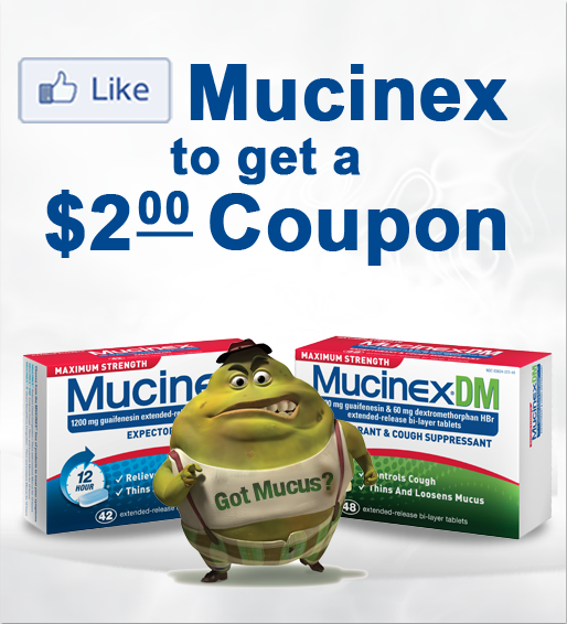 Mucinex Cold Medicine $2.00 off Printable Coupon