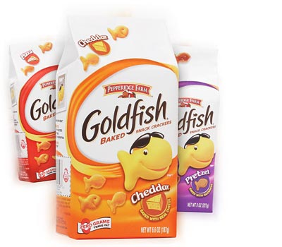 Goldfish crackers 35 off printable coupon rare for Publix fish in a bag