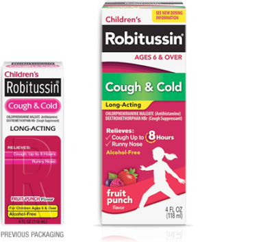 Children S Robitussin 1 00 Off Printable Coupon
