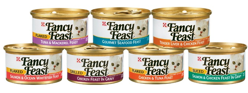 Cat Food Canned Fancy Feast Allergy