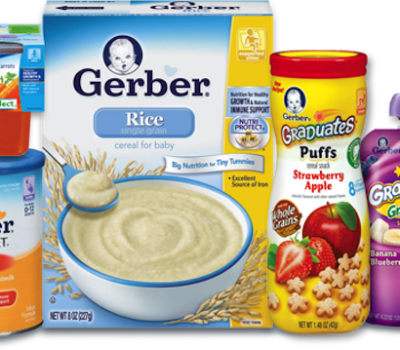 Gerber products for babies