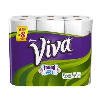 You will need a roll of Viva paper towels. Viva paper towels are the only towels that I'm aware of that have no texture on them. That makes them perfect for this job.