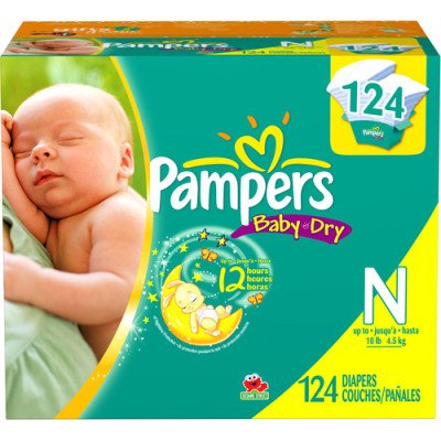 Huggies Little Snugglers diapers are specially designed for gentle skin protection. With features like the pocketed-back waistband and GentleAbsorb liner that contain and draw the mess away, Little Snugglers help keep your baby's delicate skin clean and healthy.
