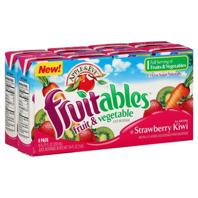 Apple And Eve Fruitables Juice Boxes 1 50 Off 2 Coupon