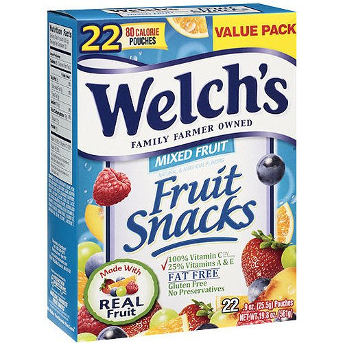 are welchs fruit snacks healthy healthy fruit list