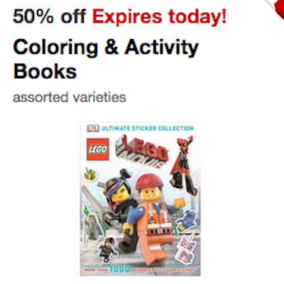 Target Coloring Books