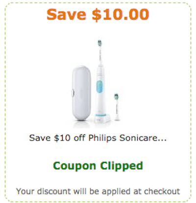 Oil Change At Walmart >> Philips Sonicare Toothbrush $10 off Amazon Coupon - Nice ...