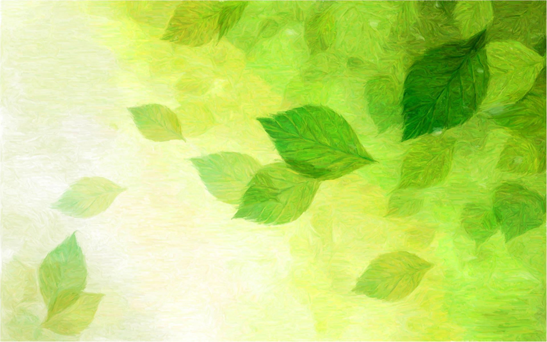 green spring background - photo #11