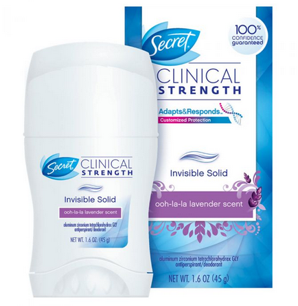 photo relating to Secret Deodorant Printable Coupons known as Solution Deodorant / Antiperspirant $1 Off Printable Coupon