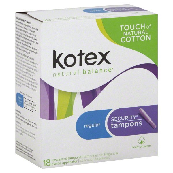 Tampon coupons u kotex