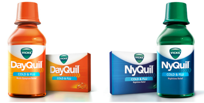 image regarding Nyquil Coupons Printable identified as DayQuil and NyQuil $1.00 Off Printable Coupon codes - Printable