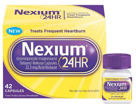 image relating to Nexium Printable Coupon known as Nexium 24HR $3.00 Off Printable Coupon - Nexium 24hr Coupon