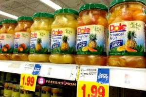 dole fruit cup coupon