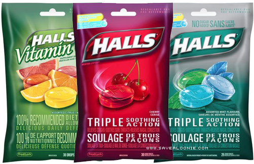 Save $ on Halls with coupons online or in the SmartSource newspaper insert. Combine coupons, store promotions and mobile rebates to buy cough drops for.
