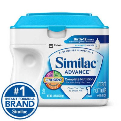 Discount coupons on infant similac formula
