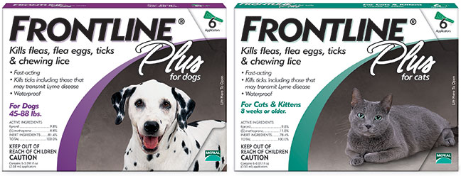 Frontline for dogs coupons