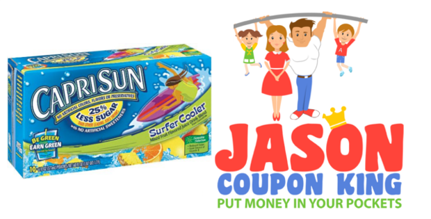 Capri sun drink coupons