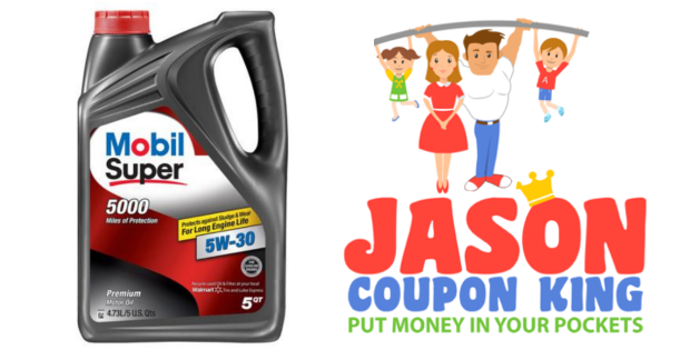 Print This 5 Autozone Coupon For Mobil Super Motor Oil
