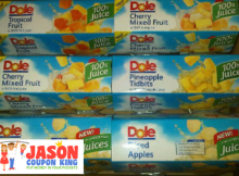 dole fruit cups coupon