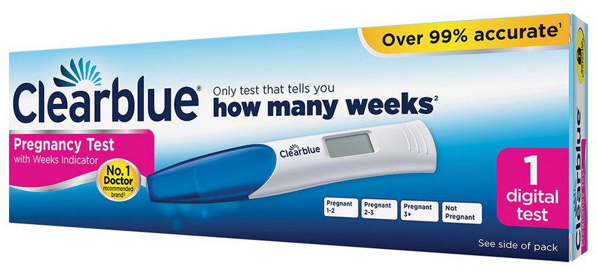 clear blue pregnancy test coupon